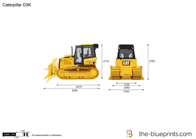 Caterpillar D3K Track-Type Tractor