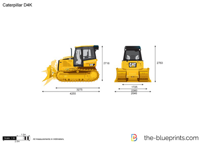 Caterpillar D4K Track-Type Tractor