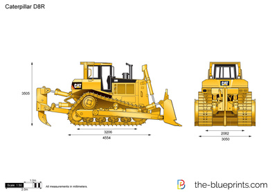 Caterpillar D8R Track-Type Tractor