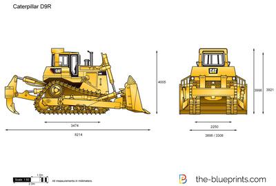 Caterpillar D9R Track-Type Tractor