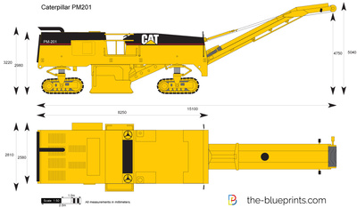 Caterpillar PM201 Cold Planer