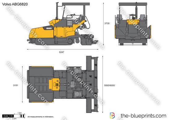 Volvo ABG6820 Paver