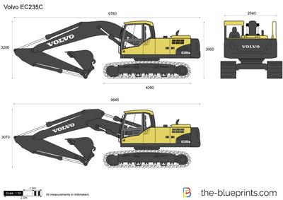 Volvo EC235C Crawler Excavator