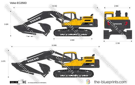 Volvo EC250D Crawler Excavator