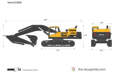 Volvo EC380D Crawler Excavator