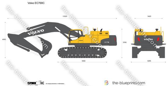 Volvo EC700C Crawler Excavator