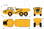Volvo A30D Articulated Hauler