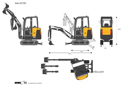 Volvo EC15C Crawler Excavator