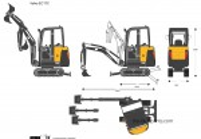 Volvo EC17C Crawler Excavator