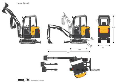 Volvo EC18C Crawler Excavator