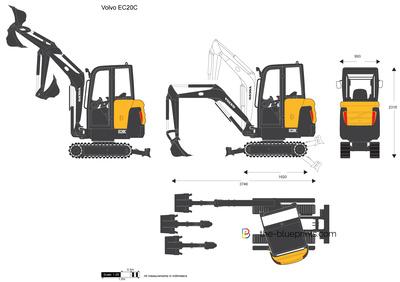 Volvo EC20C Crawler Excavator