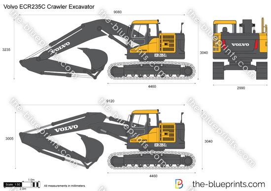 Volvo ECR235C Crawler Excavator