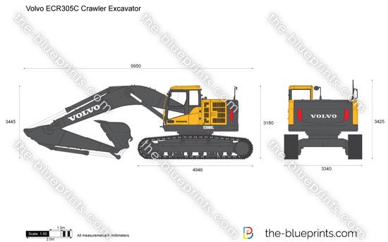 Volvo ECR305C Crawler Excavator