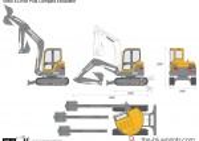 Volvo ECR58 Plus Compact Excavator