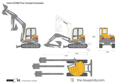 Volvo ECR88 Plus Compact Excavator