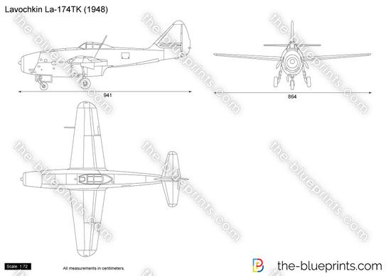Lavochkin La-174TK