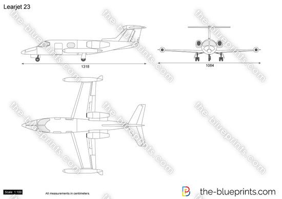 Learjet 23