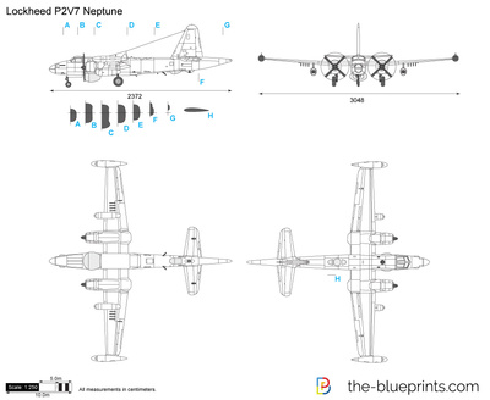 Blueprints > WW2 Airplanes > Lockheed > Lockheed P2V Neptune