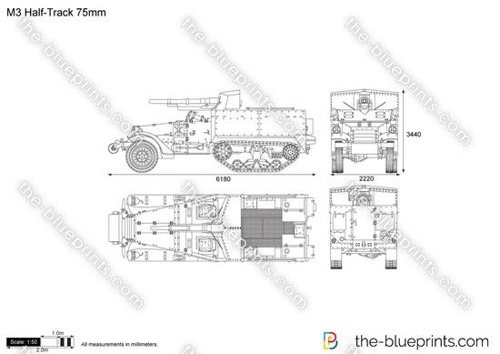 M3 Half-Track 75mm