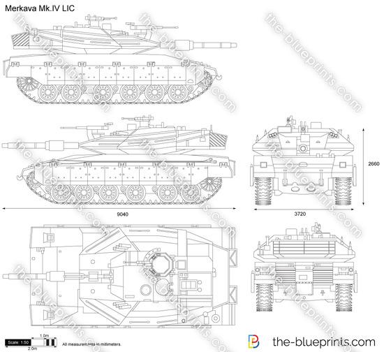 Vector Requests Merkava Mk IV LIC
