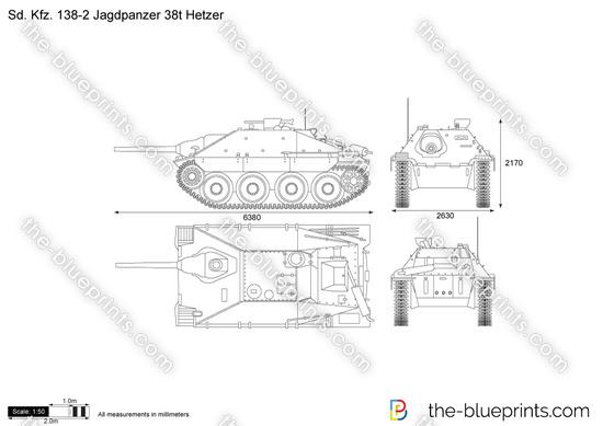 Sd.Kfz. 138-2 Jagdpanzer 38t Hetzer