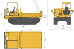 Yanmar C50R All Terrain Carrier