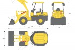 Yanmar V3-6 Wheel Loader