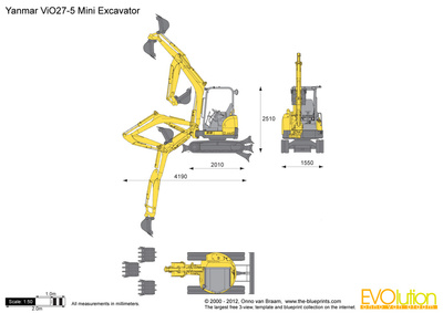 Yanmar ViO27-5 Mini Excavator