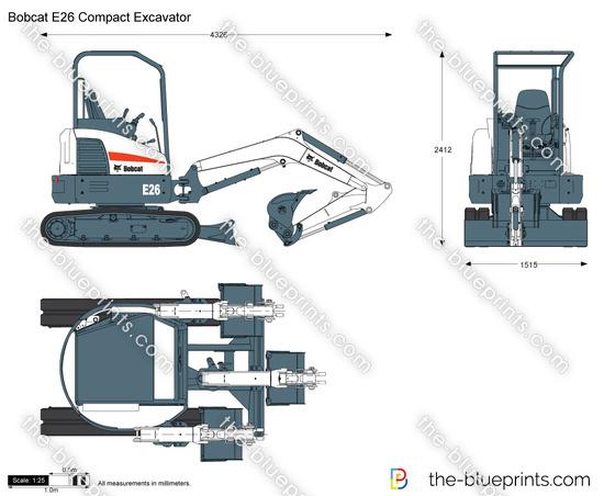 Bobcat E26 Compact Excavator