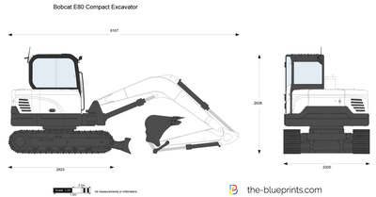 Bobcat E80 Compact Excavator