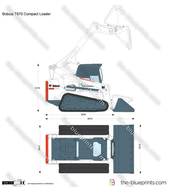 Bobcat T870 Compact Loader