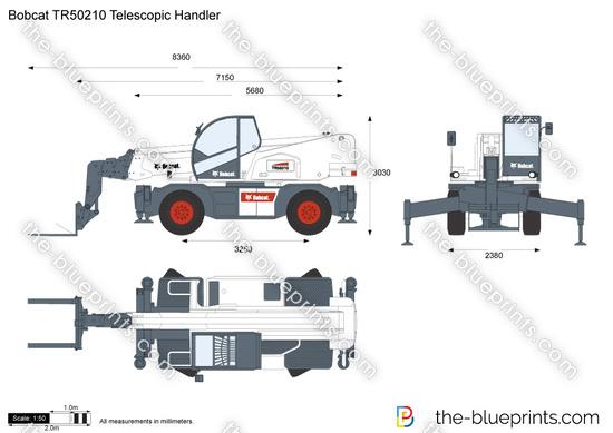 Bobcat TR50210 Telescopic Handler