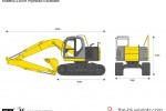 Kobelco 235SR Hydraulic Excavator