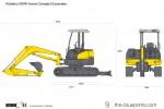Kobelco 50SR Acera Compact Excavator