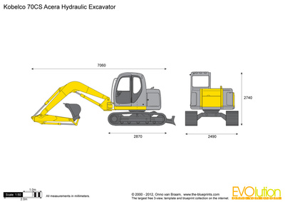 Kobelco 70CS Acera Hydraulic Excavator