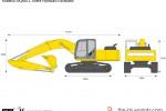 Kobelco SK260LC Acera Hydraulic Excavator