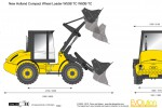 New Holland Compact Wheel Loader W50B TC W80B TC