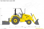 New Holland Tractor Loader U80B