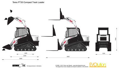 Terex PT30 Compact Track Loader