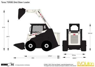 Terex TSR80 Skid Steer Loader