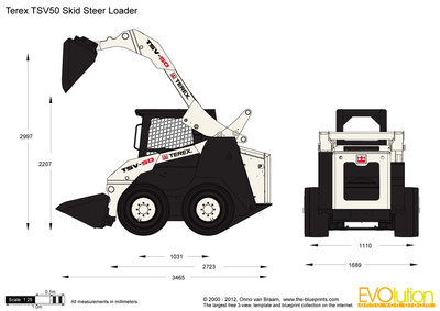 Terex TSV50 Skid Steer Loader