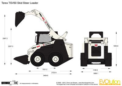 Terex TSV60 Skid Steer Loader