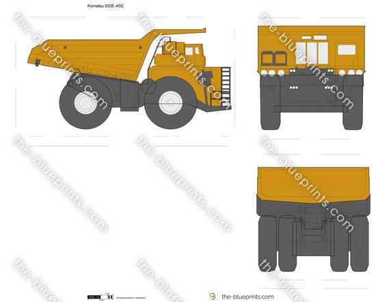 Komatsu 930E-4SE Electric Drive Truck