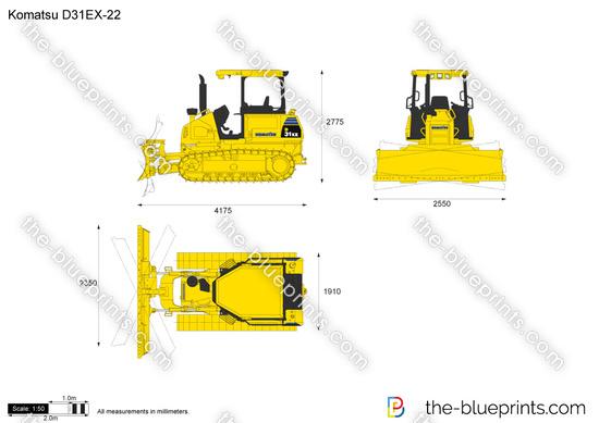 Komatsu D31EX-22 Crawler Dozer
