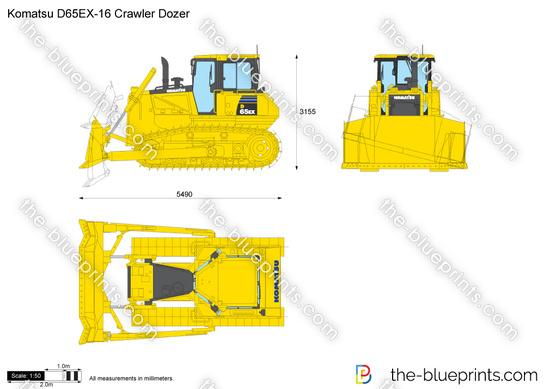 Komatsu D65EX-16 Crawler Dozer