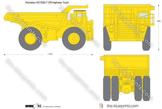 Komatsu HD1500-7 Off-Highway Truck