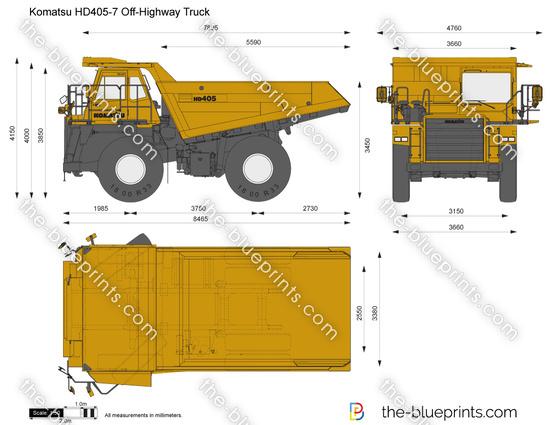 Komatsu HD405-7 Off-Highway Truck