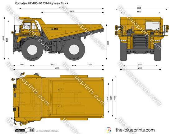 Komatsu HD465-70 Off-Highway Truck