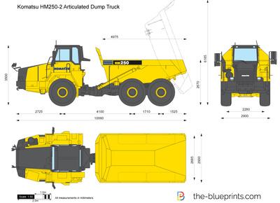 Komatsu HM250-2 Articulated Dump Truck