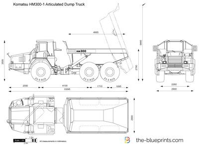 Komatsu HM300-1 Articulated Dump Truck